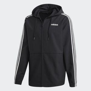 Adidas Essentials 3 Stripe Woven Windbreaker